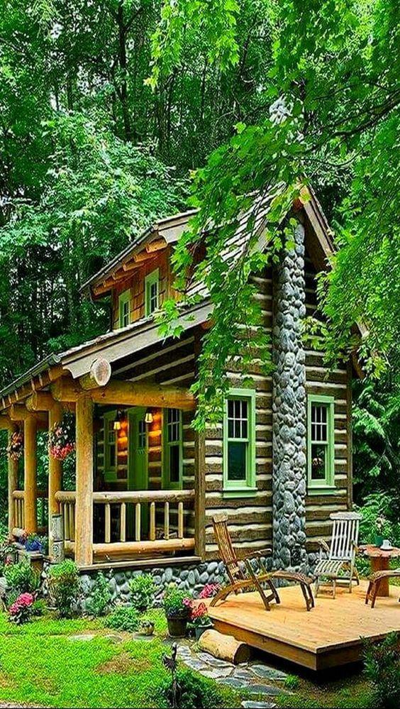 31553345e1f6e2cb71c75c261c889c64 - 21 Perfect Tiny Cabins For Living Outdoors