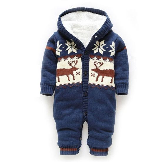 Child winter wear - this looks like a cozy ones peice