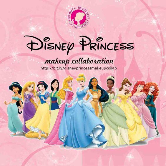 Disney Princess Makeup Collab with BBT