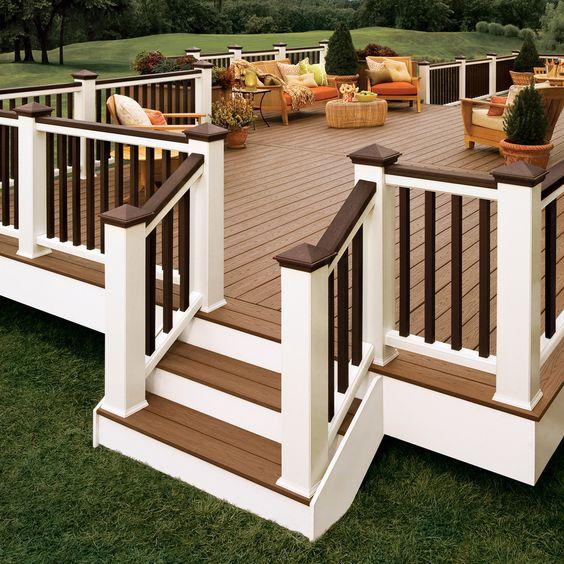 Shop Trex White Composite Deck Trim Board (Common: 1-in x 12-in x 12-ft; Actual: 3/4-in x 11.25-in x 12-ft) at Lowes.com