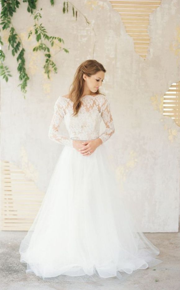 Wedding dresses,lace wedding dress,long sleeve bridal gown,cheap wedding dress,2016 bridal gown