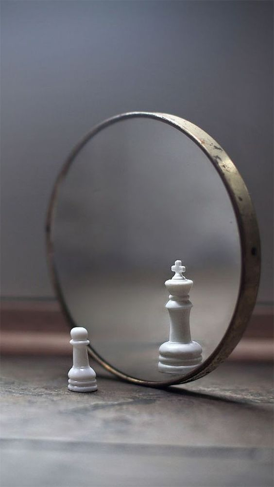 Conceptual still life photos | Affirmations and Visualisation | Mirror reflection manipulation | Photoshop ideas