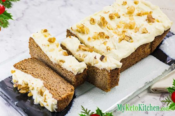 low carb gingerbread christmas recipe