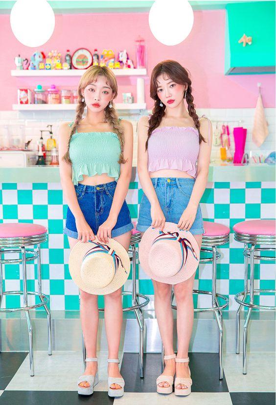#Chuu(MT) 2017 #style #사랑해츄 #twinlook