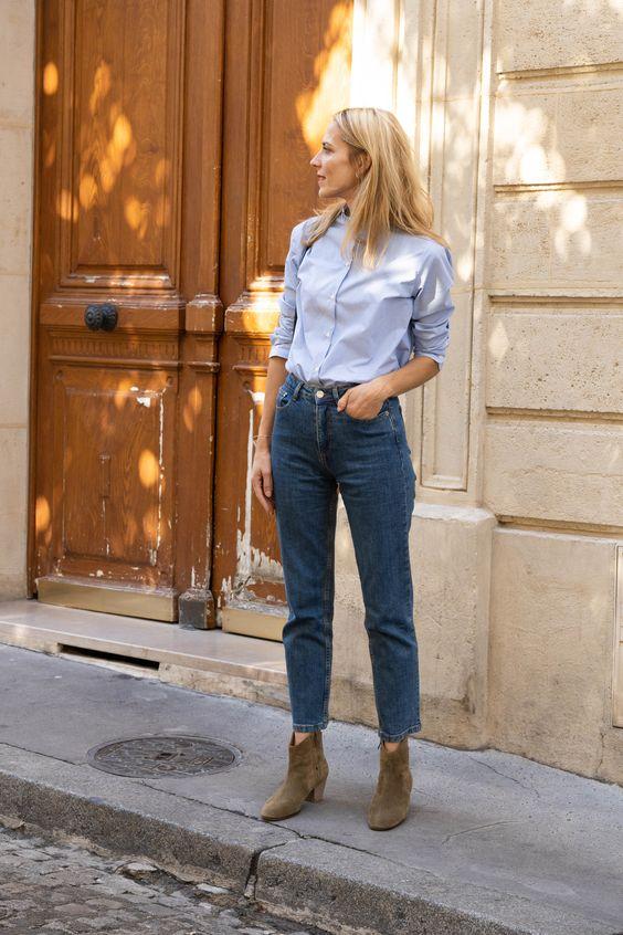Le mom jean Maison Standards - Le Dressing Idéal