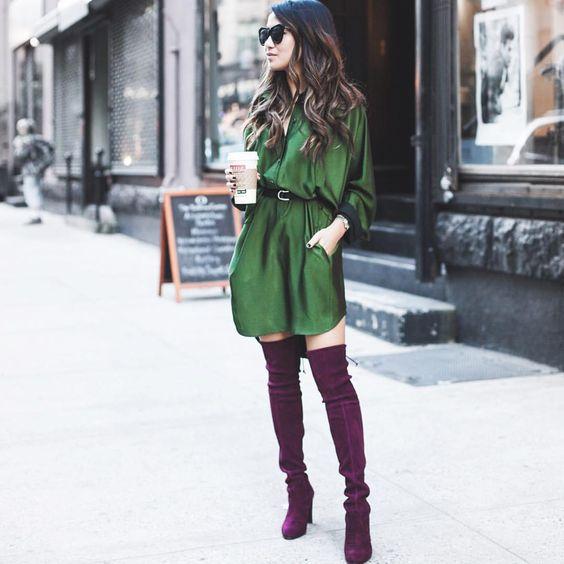"Wendy Nguyen on Instagram: ""New blog post [10.19.15]! Emerald and burgundy on www.wendyslookbook.com | @liketoknow.it www.liketk.it/1NPJc #liketkit"""