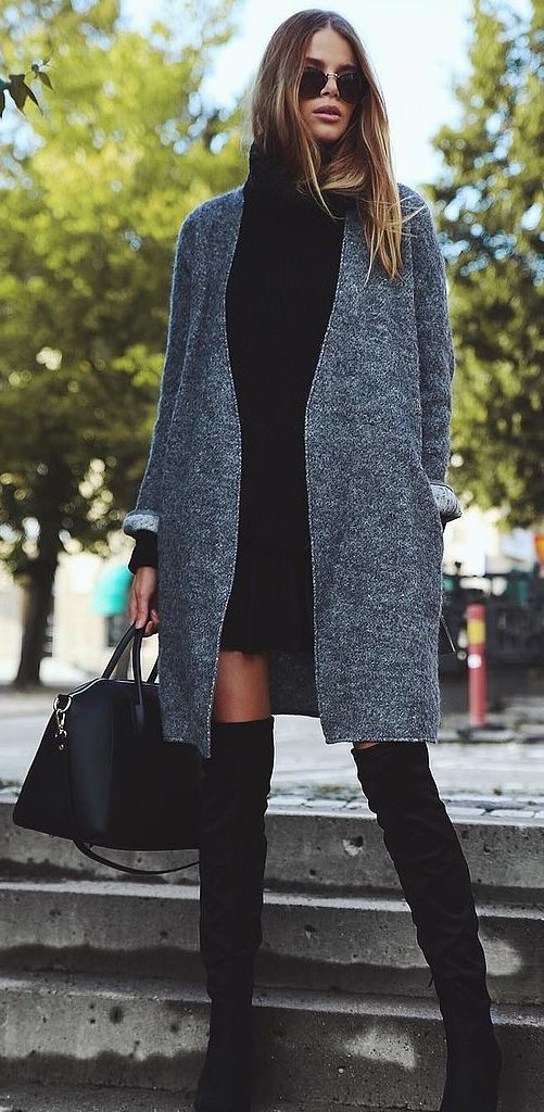 over the knee boots.