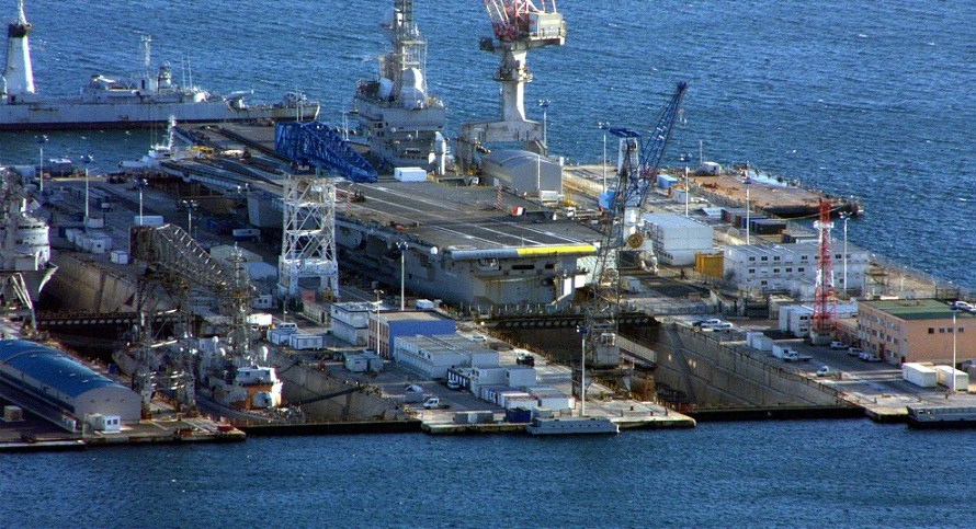under water harbour defence