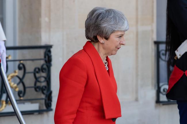 © Bloomberg. Theresa May