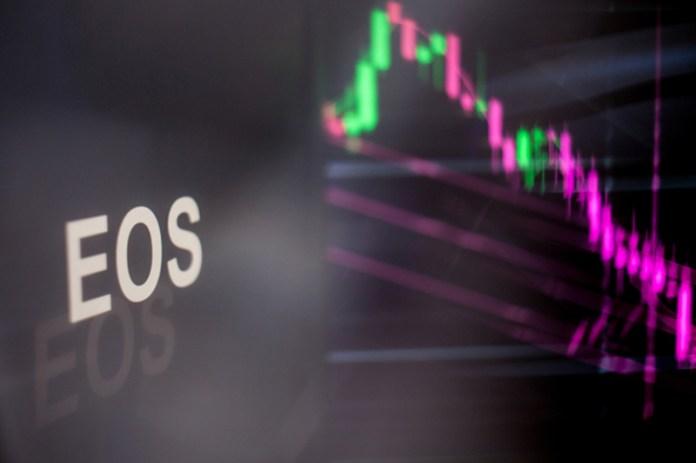 EOS Falls 15% In Selloff