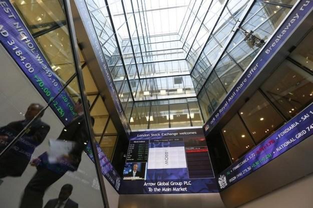 © Reuters. U.K. stocks lower at close of trade; Investing.com United Kingdom 100 down 0.53%