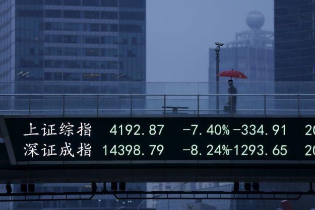 © Reuters. China stocks mixed at close of trade; Shanghai Composite up 0.03%