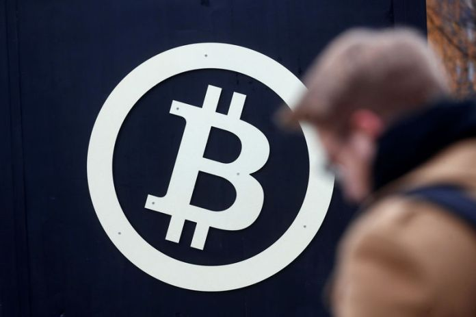 © Reuters.  Bitcoin was lower on Tuesday.