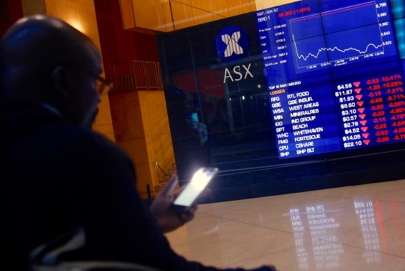 Australia stocks higher at close of trade; S&P/ASX 200 up 0.56%