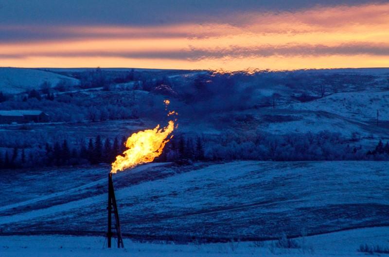 © Reuters.  I futures del Gas Naturale in rialzo durante la sessione U.S.A.
