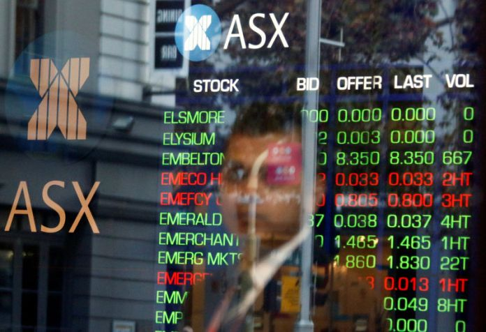 © -.  Australia stocks lower at close of trade; S&P/ASX 200 down 1.19%