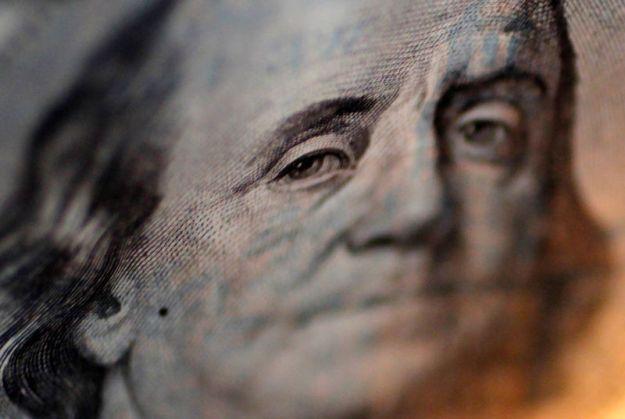 © Reuters.  Dollar near two-week high, euro steady as traders temper rate cut views