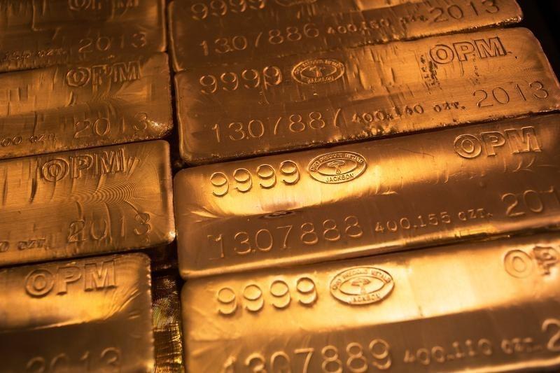 © Reuters.  I futures dell'Oro in rialzo durante la sessione Europea