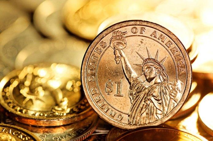 The U.S. dollar slipped on Friday