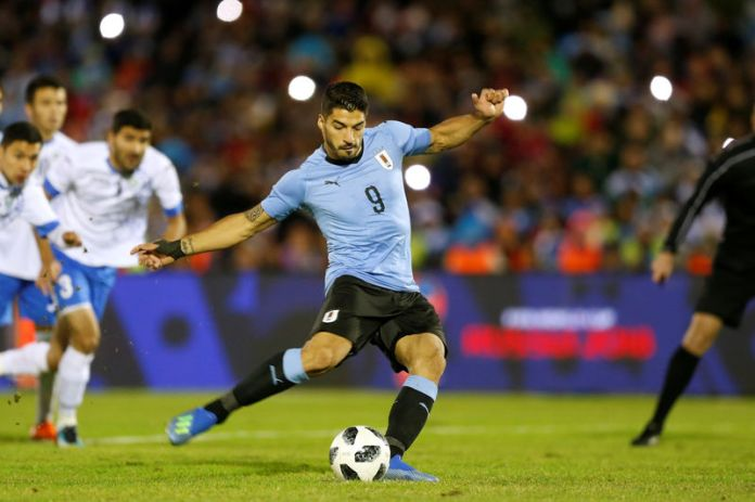 © Reuters. International Friendly - Uruguay vs Uzbekistan
