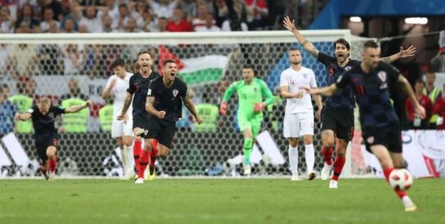 © Reuters. World Cup - Semi Final - Croatia v England