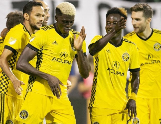 © Reuters. MLS: Houston Dynamo at Columbus Crew SC