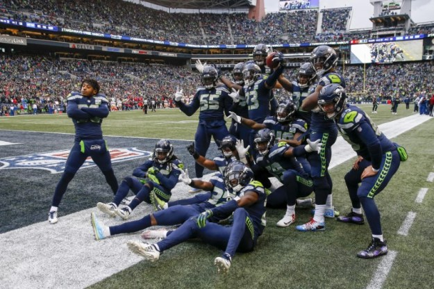 © Reuters. NFL: San Francisco 49ers at Seattle Seahawks