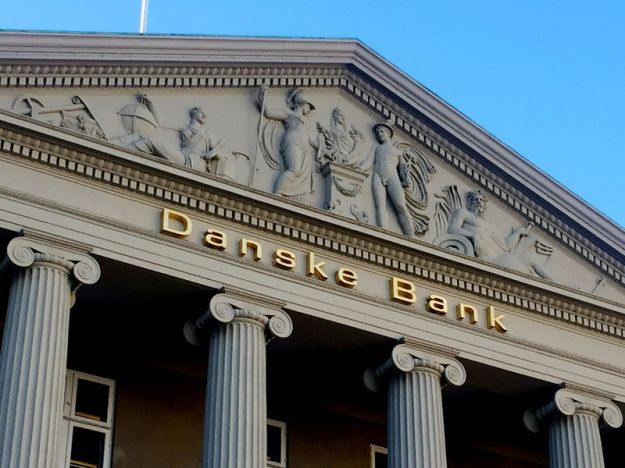 © Reuters. FILE PHOTO: General view of the Danske Bank building in Copenhagen