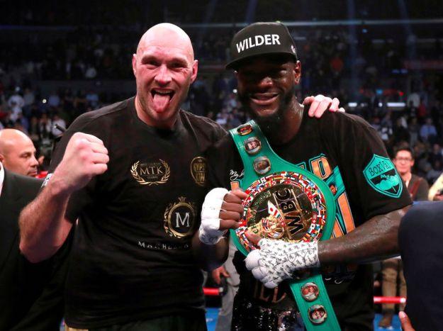 © Reuters. Deontay Wilder v Tyson Fury - WBC World Heavyweight Title