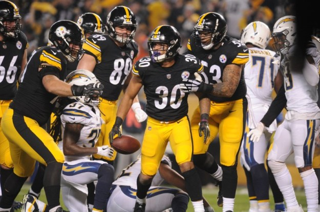 © Reuters. NFL: Los Angeles Chargers at Pittsburgh Steelers
