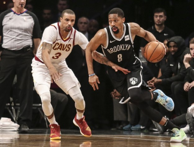 © Reuters. NBA: Cleveland Cavaliers at Brooklyn Nets