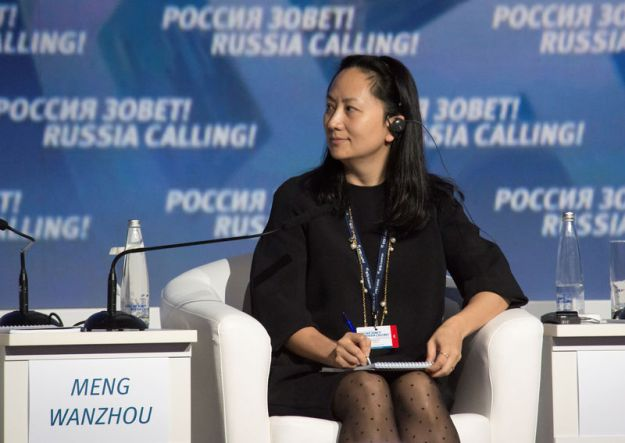 © Reuters. Huawei's Executive Board Director Meng Wanzhou attends the VTB Capital Investment Forum