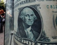 Dollar ticks up, pounds falls from 1-1/2 year high By Reuters