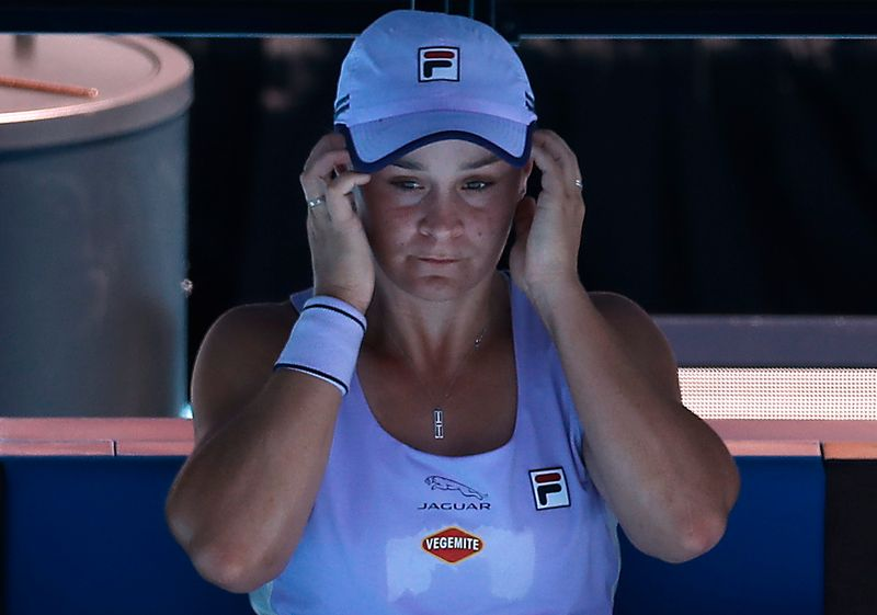 Barty heartbroken by loss but happy to be back in the game