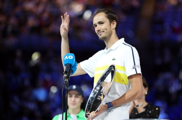 Medvedev hopes for more chances to end Grand Slam drought