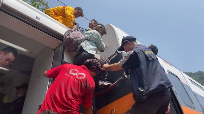 Taiwan train crash kills 41 in deadliest rail tragedy in decades