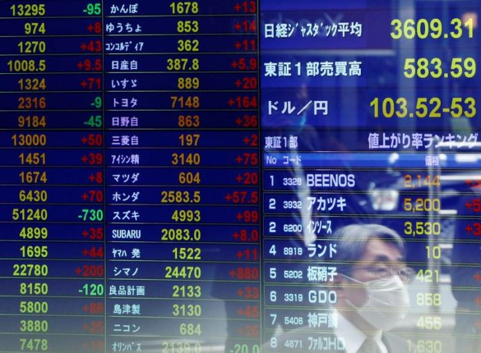 Asia's share markets edge up on recovery signals