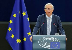 Image result for EU's Juncker confirms aims for close ties with Britain