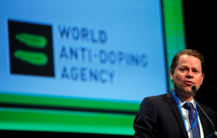 © Reuters. Niggli Director General of the WADA attends the WADA Symposium in Ecublens