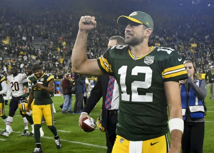 © Reuters. NFL: Chicago Bears at Green Bay Packers