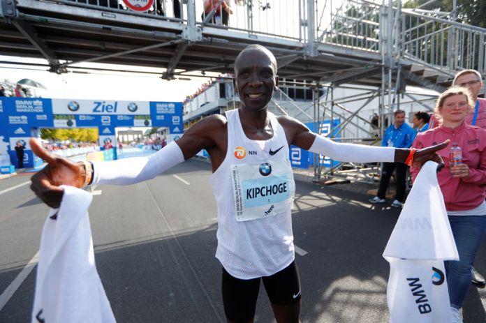 © Reuters. Berlin Marathon
