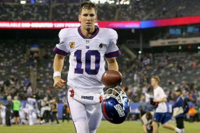 © Reuters. NFL: Philadelphia Eagles at New York Giants
