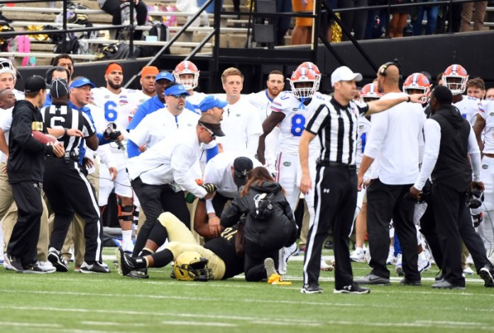 © Reuters. NCAA Football: Florida at Vanderbilt