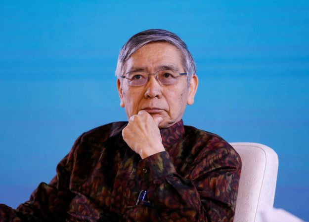 © Reuters. Bank of Japan governor Haruhiko Kuroda attends a seminar at the International Monetary Fund - World Bank Group Annual Meeting 2018 in Nusa Dua, Bali
