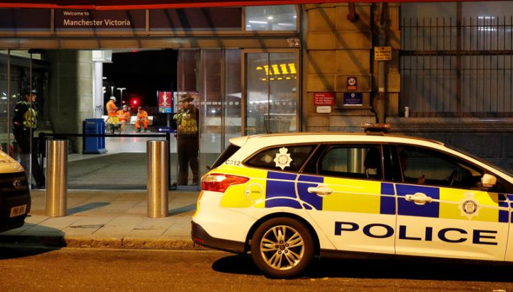 Image result for UK counter-terrorism police probe New Year's Eve stabbings in Manchester
