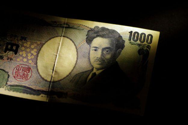 © Reuters. Illustration photo of a Japan Yen note