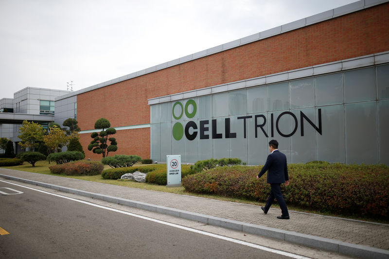© Reuters. The logo of Celltrion is seen at company's headquarters in Incheon