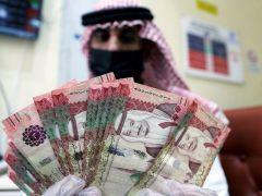 U.S. dollar jumps vs Saudi riyal in forwards market as oil slumps By Reuters