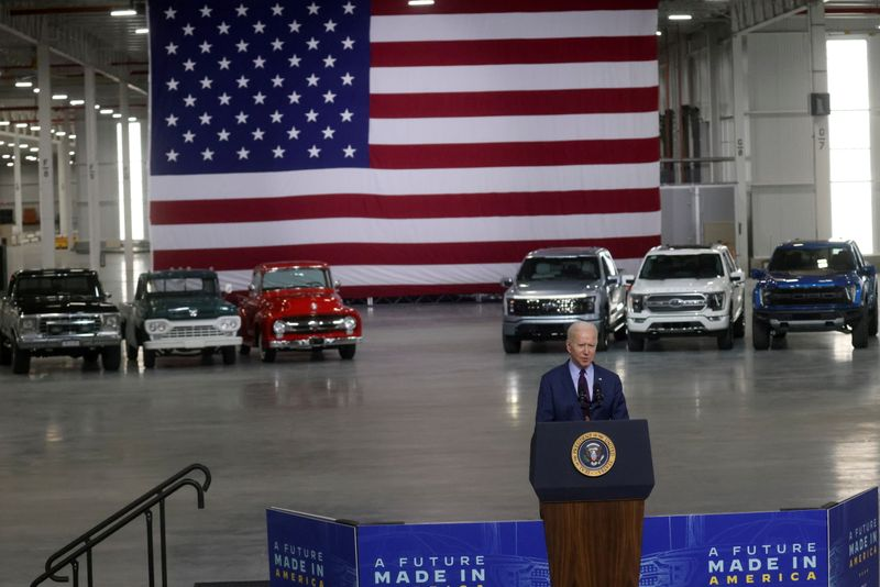 Exclusive-Biden looks abroad for electric vehicle metals, in blow to U.S. miners