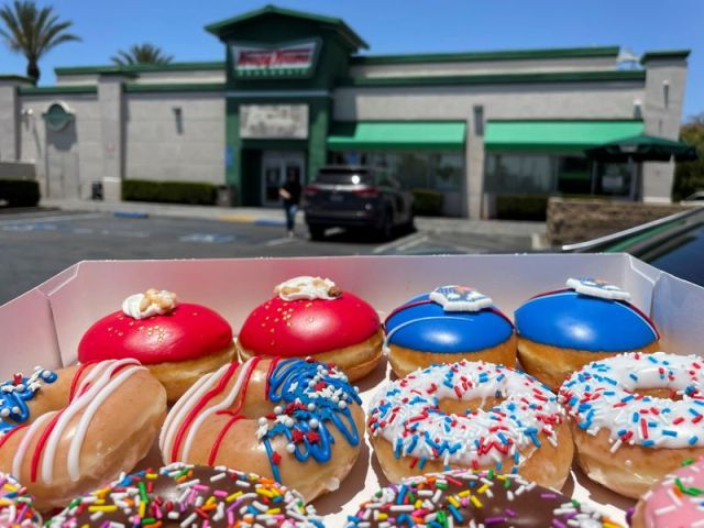 Krispy Kreme is committed to releasing curbs, new menu items to predict higher revenue